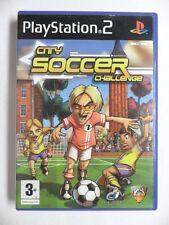 COMPLET jeu CITY SOCCER CHALLENGE sur playstation 2 PS2 en francais juego gioco