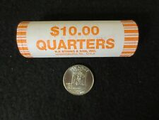 """NEW MEXICO"" STATEHOOD  UNCIRCULATED MINT ROLL QUARTERS 40 COINS"
