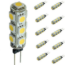 10X G4 3W 5050 SMD LED Corn Light Bulb Lamp Warm White DC 12V 3500K