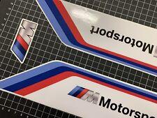 BMW M-Motorsport Aufkleber 3teilig Verkleidungskiel S1000RR S 1000 R 2009-18 Neu