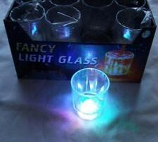 12 pieces Multi Color Flashing LED Light Fancy Shot Glasses Party Barware Supply
