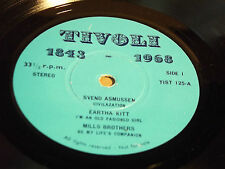 "V/A - TIVOLI - EARTHA KITT MILLS BROS. JOSEPHINE BAKER u.a. -  7""-EP PROMO (13)"