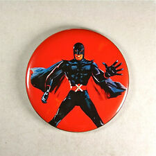 "Mister X  Fridge Magnet 2 1/4"" , Mod 1960's Superhero  Avenger X Movie Poster"