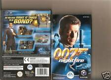 JAMES BOND NIGHTFIRE 007 GAMECUBE NINTENDO / WII