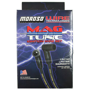 MADE IN USA Moroso Mag-Tune Spark Plug Wires Custom Fit Ignition Wire Set 9606M