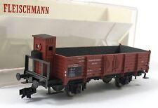 Fleischmann 5204 Offener Güterwagen mit Brhs Halle der DB Spur H0, OVP