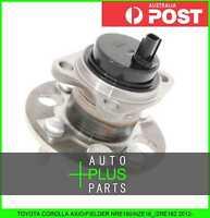 Fits COROLLA AXIO/FIELDER NRE160/NZE16_/ZRE162 - Rear Wheel Bearing Hub