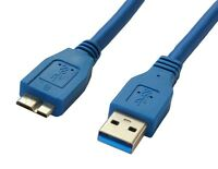 HighSpeed 1m USB 3.0 Cable A To Micro B WD My Passport for Mac Hard Drive HDD