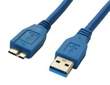 2m USB 3.0 Cable A To Micro B for Toshiba HDTB310EK3AA External Hard Drive HDD