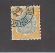 BERMUDA # 127a KGV1 12/6d ORANGE AND GREY PART SON CDS CAT VALUE $60