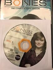 Bones – Season 6, Disc 1 REPLACEMENT DISC (not full season)