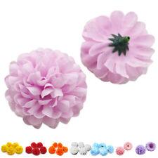 30pcs Daisy Artificial Fake flower Silk Spherical Heads Bulk Wedding Party B4E6