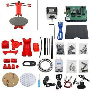 3D DIY Laser Scanner Plate Kit w/Adapter Object For Ciclop Printer ot16