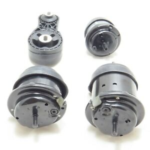 New Hydraulic Engine Motor & Trans Mount Set of 4 for Chevrolet GMC & Buick 3.6L