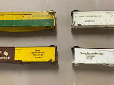 4 OriginalDavid O. King Steel O Scale Box Cars. DOK Scaleplate.Very Rare !
