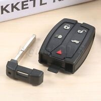 1Pc Remote Control Key Fob 5 Buttons 433MHz Fit For 2008-2012 Land Rover LR2