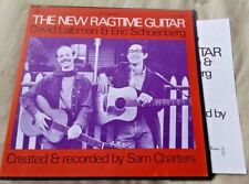 David Laibman/Eric Schoenberg - The New Ragtime Guitar LP ASCH Strong VG+