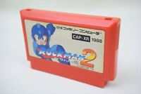 ROCKMAN 2 Megaman Cartridge Only Famicom Nintendo Import JAPAN Game fc *