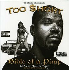 Too $hort, Too Short - Bible of a Pimp [New CD] Explicit, With DVD