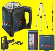 Bosch rotación láser set grl 500 HV + LR 50 + trípode BT 170hd láser H