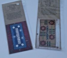 2 Diff, Nib , Joined At The Hip , Yard Longs, Snowflakes ,Sunflower. Kits