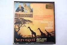 PELICULA SUPER 8  SONORO SERENGETI BERNHARD GRZIMEK UND MICHAEL GRZIMEK VER FOTO