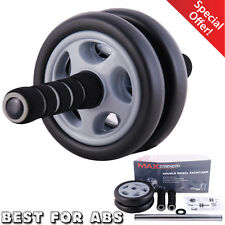 Abdominal Exercise Roller Abs Wheel Crunch Machine Gym Fitness Strength Training