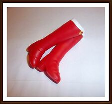 Tall Red Moon Boots Boots / Shoes For  - Barbie Doll -  Mattel