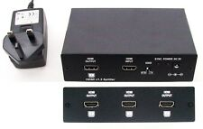 HDMI Splitter Amplifier, 1 source to 4 displays without loss, supports DVI, EDID