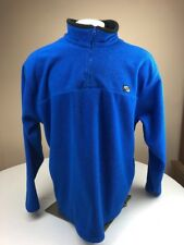 Counter Culture 1/4 Zip Pullover Comfort Fleece Jacket Royal Blue Size XLarge XL