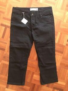 Just Jeans Ladies Cropped Denim Jeans Size 11