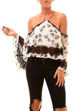 Keepsake Women's Moonlight Top Ivory Floral Size S RRP $125 BCF78