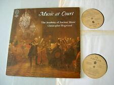 Folio Society FS 1001-2 Music At Court: BACH/DOWLAND/SCARLATTI etc Hogwood 2LP
