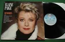 The Best Of Elaine Paige Memories inc The Way We Were + STAR 2313 LP