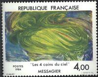 Frankreich 2433 (kompl.Ausg.) gestempelt 1984 Kunst