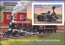 Guyana 2004 Trains/Railways/Rail/Steam Engine/Locomotive/Transport 1v m/s  s914a