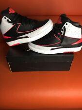 Nike Air Jordan 2 Retro Infrared 23 385475-023 Black/Infrared 23 Size 10.5