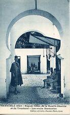 CP / GRENOBLE EXPOSITION DE LA HOUILLE BLANCHE 1925 LES SOUKS MAROCAINS