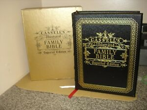 CASSELL'S ILLUSTRATED FAMILY BIBLE. SUPERIOR EDITION. THE HOLY BIBLE Limited Ed