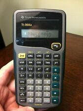 Texas Instruments Ti-30Xa Scientific Calculator w/ Cover - Tested and Working *B
