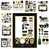 2020 Happy New Year's Eve Party Supplies Masks Photo Booth Props Decoration