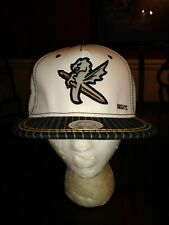 Charlotte Knights Basebal Ball Cap in Khaki Tan White North Carolina OSFM NEW