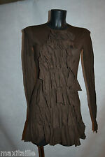 ROBE TUNIQUE VOLANTE RALPH LAUREN  TAILLE XS/34  DRESS/KLEID/ABITO/VESTIDO NEUF
