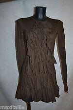 ROBE TUNIQUE VOLANTE RALPH LAUREN  TAILLE XS/34  DRESS/KLEID/ABITO/VESTIDO NEUF