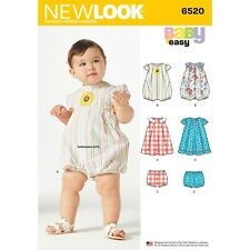 Look Pattern 6520 Babies' Romper and Dress with Panties By Spotlight