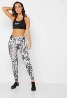 NEW Nike Logo Womens Mid Rise Legging Back Zip Pocket Size S M $80