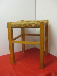 Bauhaus Hocker Vintage Sitzhocker Art Deco Fußhocker Erich Dieckmann