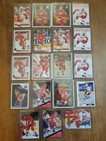 1985-86 Topps Hockey Paul Coffey #85 PLUS 18 CARD LOT OILERS/RED WINGS HOF