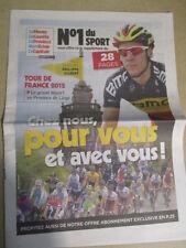 VELO : TOUR DE FRANCE : CHEZ VOUS, POUR VOUS ET AVEC VOUS ! - 30/06/2012 -
