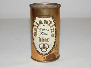 VINTAGE BALLANTINE EXTRA FINE BEER CAN 12 FLUID OZ OPENED ON BOTTOM  *EMPTY*